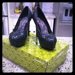 Pretty black Gianni Bini Heels. Used